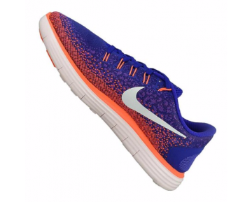 Nike Free Run Distance Running Herren Blau/Silbergrau/Orange/Lila/Weiß F402 10063334