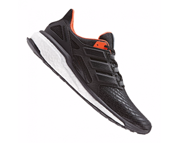 buy popular 71a89 0524e adidas Energy Boost Running Herren SchwarzWeißOrange 10080677