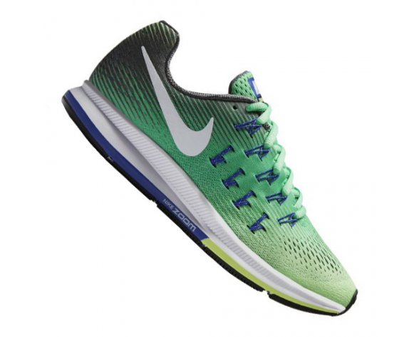Billig Neu Nike Air Zoom Pegasus 33 Running Damen GrünNavy