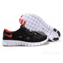 Nike Free Run 2 Running Herren Schwarz/Orange Rot
