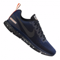Nike Air Zoom Pegasus 34 Shield Running Damen Blau ausblenden/Orange/Dunkelgrau/Rabenschwarz F001 10089654