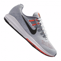 Nike Air Zoom Structure 20 Running Herren Grau/Weiß/Schwarz/Orange F009 10087850