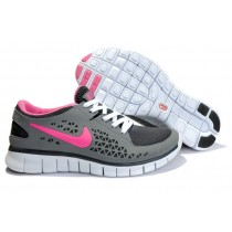Nike Free Run Running Damen Dunkelgrau/Rose