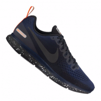 Nike Air Zoom Pegasus 34 Shield Running Herren Dunkelgrau/Schwar/Orange/Nur Blau F001 10089652
