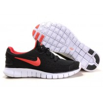 Nike Free Run Running Herren Schwarz/Orange-Rot