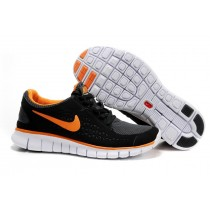 Nike Free Run Running Herren Schwarz/Orange/Grau