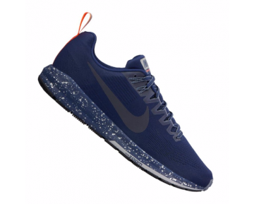 Nike Air Zoom Structure 21 Shield Running Herren Kornblumenfarbe/Blau ausblenden/Orange F400 10089651