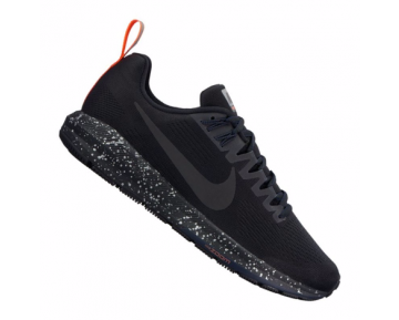 Nike Air Zoom Structure 21 Shield Run Damen Schwarz/Dunkelgrau/Orange F001 10089649