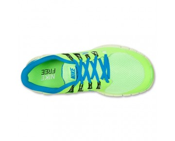 Nike Free 5.0 Running Herren Flash-Kalk/Flash-Kalk/Schwarz