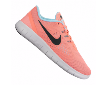 Nike Free Run Kinder Pink/Schwarz/Himmelblau/Weiß/Orange F601 10074630