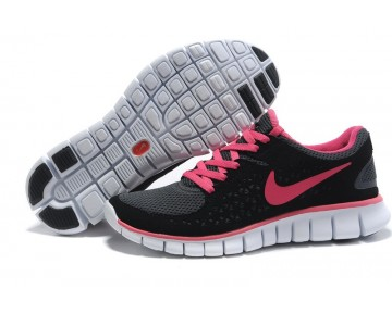 Nike Free Run Running Damen Schwarz/Rose Rot/Grau