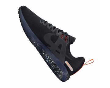 Nike Air Zoom Structure 21 Shield Running Herren Schwarz/Dunkelgrau/Orange/Blau ausblenden F001 10089650