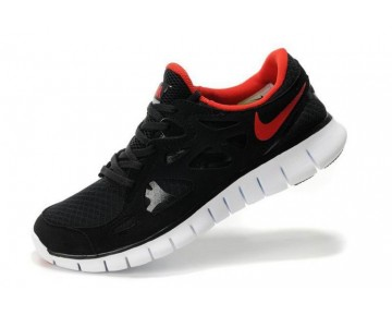 Nike Free Run 2 Running Damen Schwarz/Orange Rot