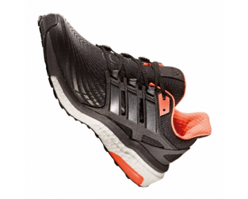 adidas Energy Boost Running Herren Schwarz/Weiß/Orange 10080677